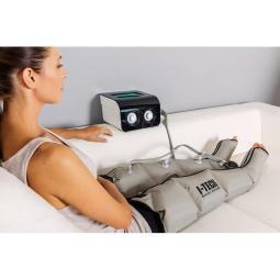 Presoterapia para piernas.
