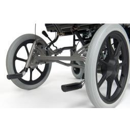 Silla ruedas basculante